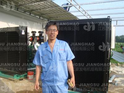 河南驻马店用户现场500KW和600KW上柴发电机组调试